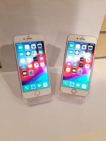 Iphone 8 64gb oro/argento con garanzia 1 anno