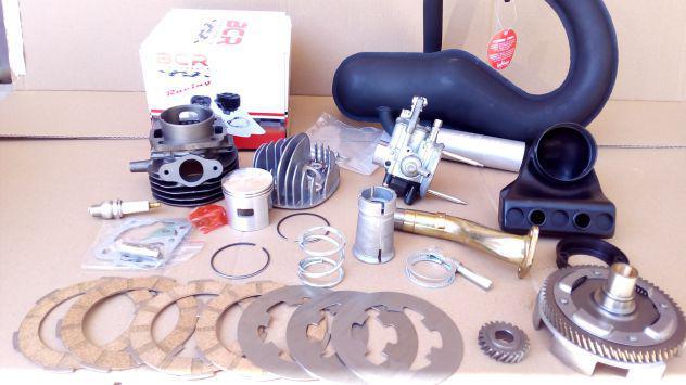 Kit modifica motore elaborazione 105 per piaggio vespa 50