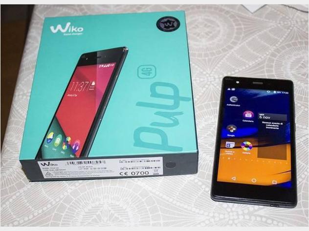 Smartphone wiko pulp doppia sim usato