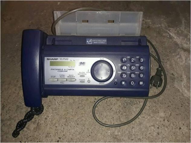 Telefono fax usato