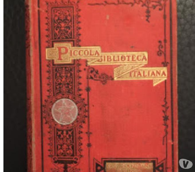 Volumetto piccola biblioteca italiana
