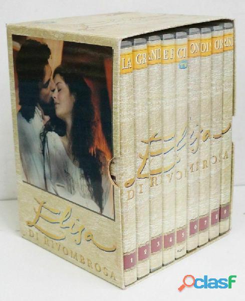 Elisa di Rivombrosa 9 DVD box cofanetto Sorrisi e canzoni nuovo