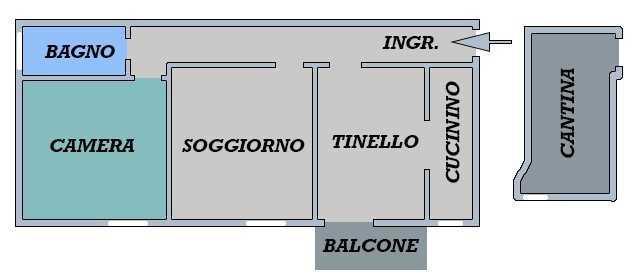 Appartamento - Trilocale a 09.San Donato, Bologna