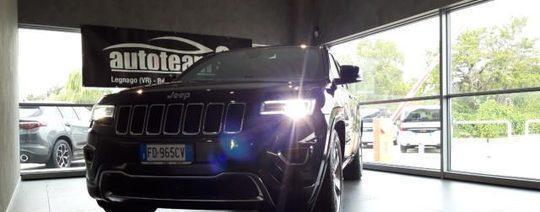 Jeep grand cherokee 3.0 v6 crd 250 cv multijet overland