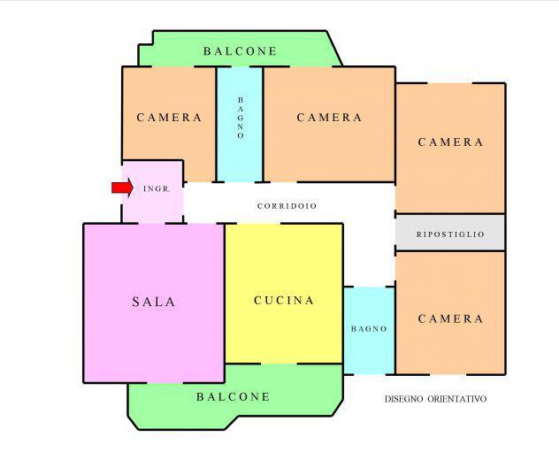 Via de fransciscis, quattro camere