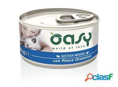 Oasy gatto mousse con pesce oceanico gr 85