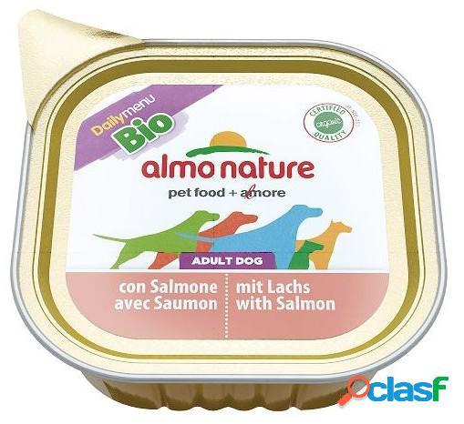 Almo nature daily menu bio patè pfc per cani gr 300 con salmone