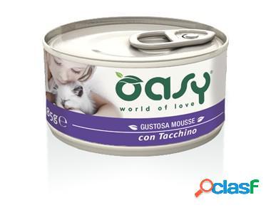 Oasy gatto mousse con tacchino gr 85