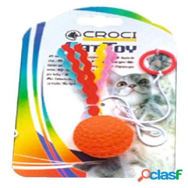 Croci gioco gatto flying ball 4 cm