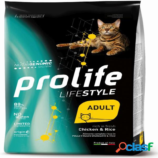 Prolife gatto life style adulto pollo kg 7 - life style adult...
