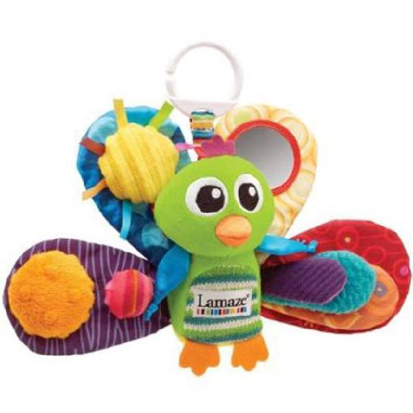 Lamaze giocattolo per bambini jacque the peacock
