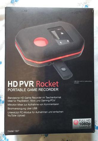 Registratore portatile per videogiochi (xbox one, ps4, wii-u