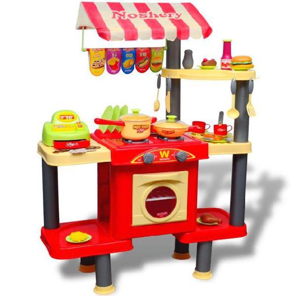Vidaxl giocattolo bambini cucina grande