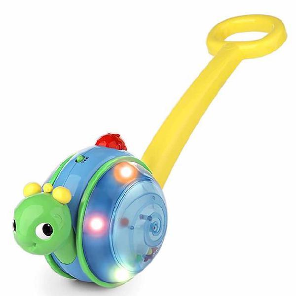 Bright starts giocattolo spingi e rotola snail