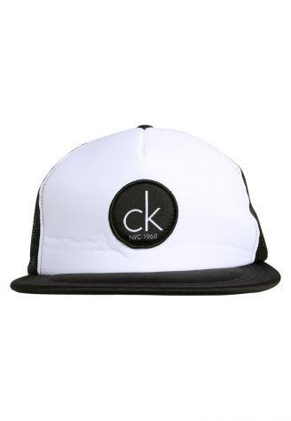 Calvin klein cappellino - white