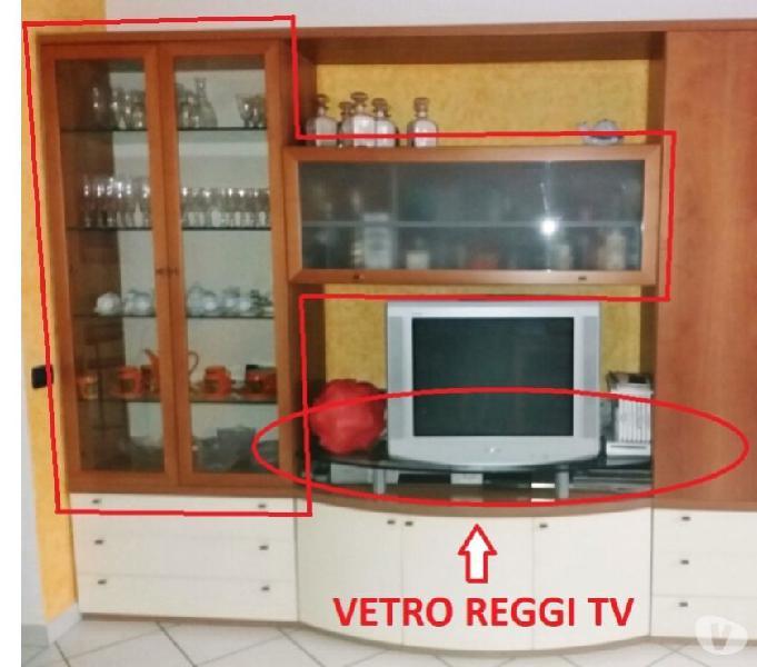Mobile con vetrinetta, porta liquori e reggi tv