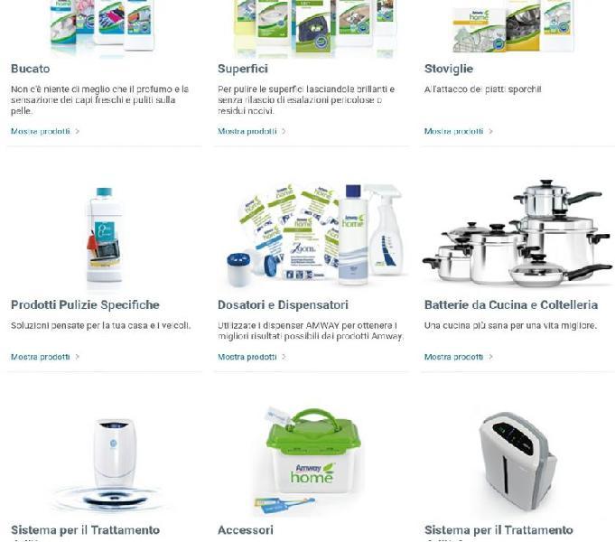 Prodotti naturali per la casa e la cura della persona