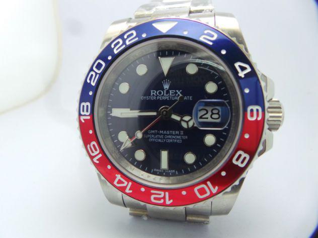 Rolex gmt master 2 ii, submariner, datejust repliche