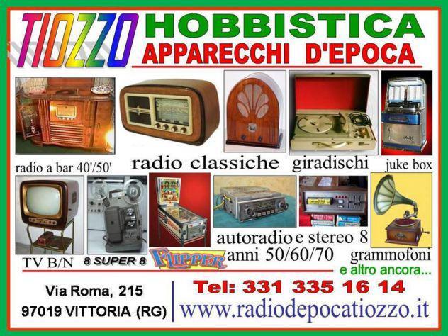 Riparazioni e restauro Apparecchi RADIO, TV D'epoca e