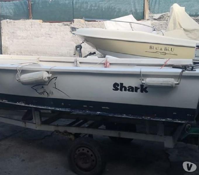 Barca open lancia punta licosa 5 x pesca rinforzata