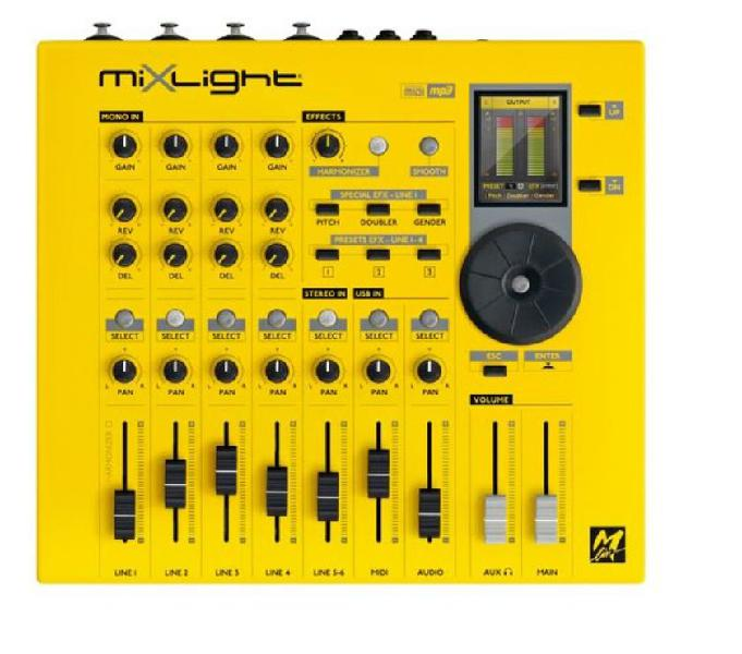 Mixer m-live mixlight. nuovo.