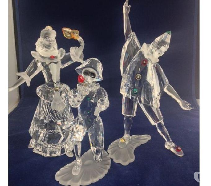 Swarovski collezione maschere italiane scs trittico 1999200