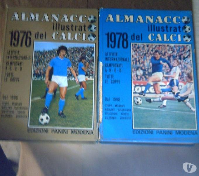 Almanacco panini di calcio