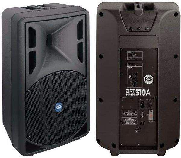 Noleggio affitto impianto audio sound casse con subwoofer