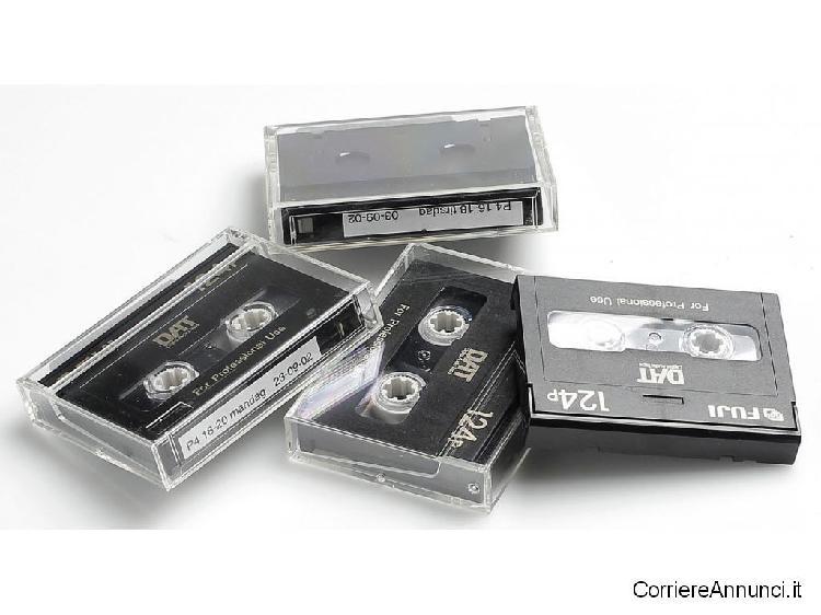 Varie cassette dat