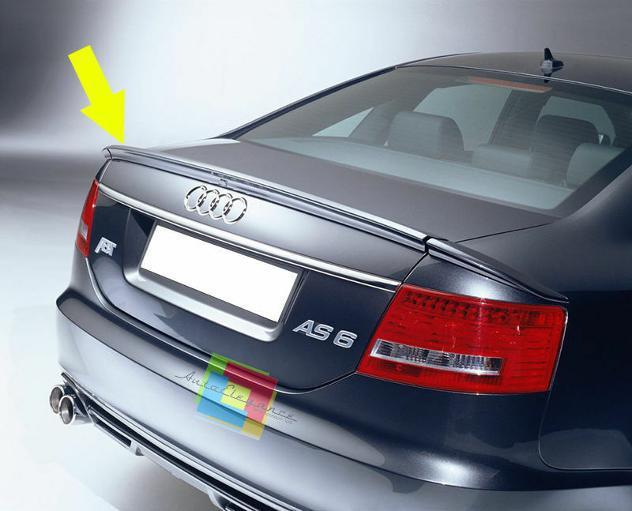 Audi a6 4f berlina 2004-2008 spoiler posteriore sul cofano