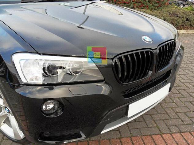 GRIGLIA PARAURTI ANTERIORE SUPERIORE BMW X3 F25 2010-2014