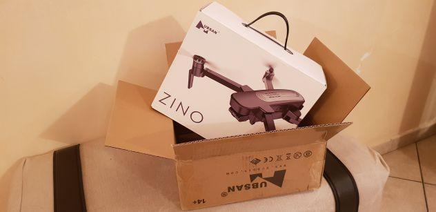 Drone hubsan zino black edition imballato