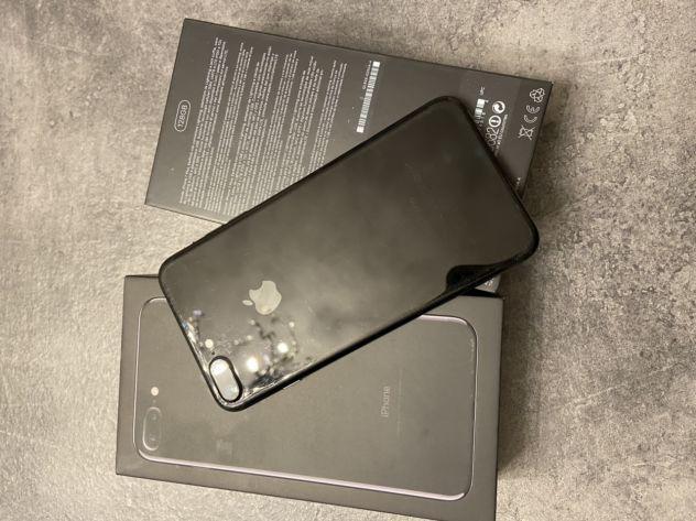 Iphone 7 plus 128gb jetblack - maggio 2018