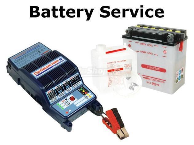 Servizio messa in opera e carica batterie