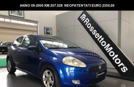 Fiat grande punto 1.3mjt 90cv 3porte - neopatentati