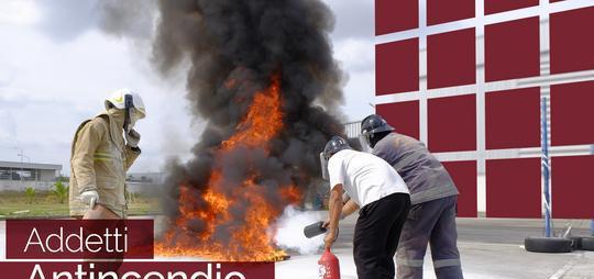 Scuole e corsi addetti antincendio to