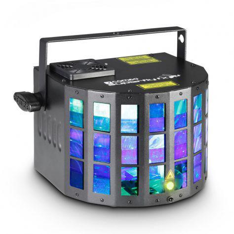 Luce multieffetti laser palco cameo superfly fx nuovo