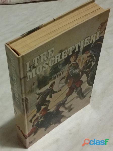 I tre moschettieri di Alexandre Dumas; Edizioni Accademia, Torino 1975 perfetto