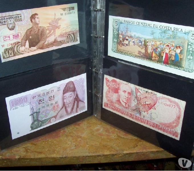 Collezione banconote.