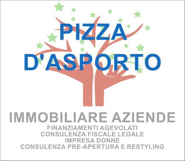 Pizzeria d'asporto con piccola gastronomia (rif.c863)