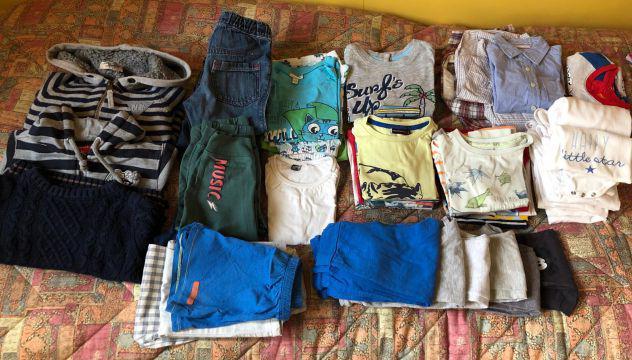 Stock abbigliamento per bimbo 2-3 anni.