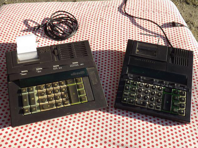 Calcolatrici vintage olivetti logos 41pd e logos 62