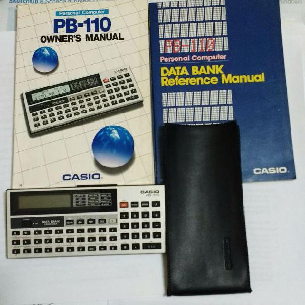 Casio vintage calcolatrice personal computer