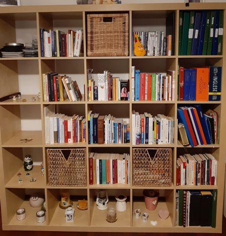Contenitori Per Scaffali Ikea.Libreria Ikea Colore Offertes Febbraio Clasf