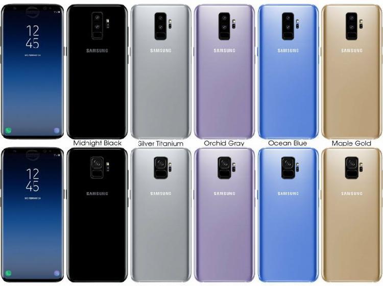Samsung galaxy s8 s8plus s9 s9plus note8 sim free