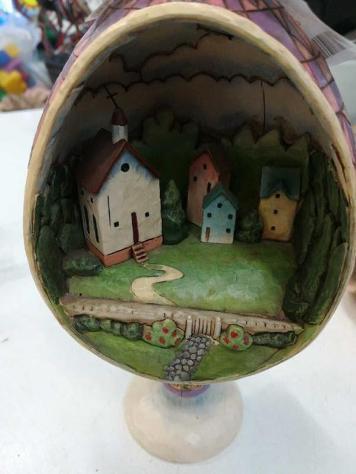 Uovo casette al interno