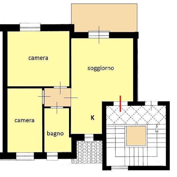 Appartamento in vendita a cecina 70 mq rif: 750575