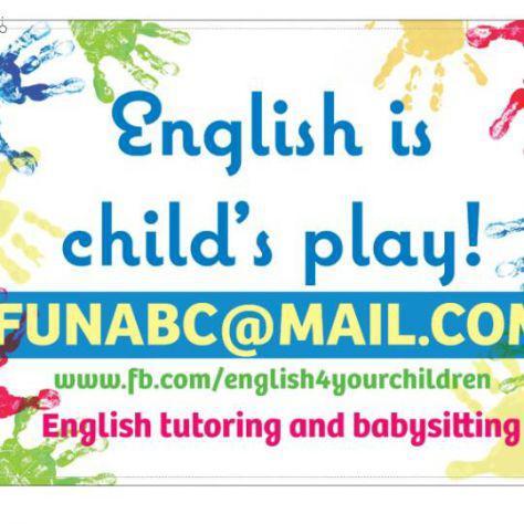 Insegnante bilingue specializzata per babini e ragazzi a