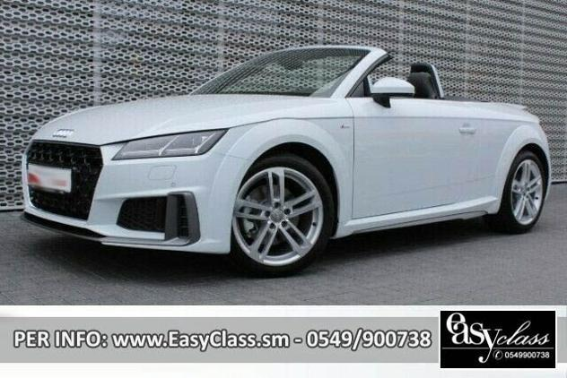 Audi tt roadster 40 tfsi s tronic s-line navi led pelle rif.