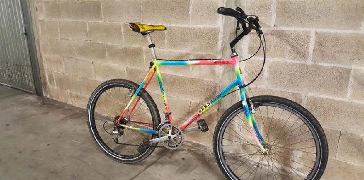 Bambini Taglia Unica Nero//Arancione Discovery 16/Bambino Bicicletta